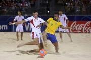 تمرینات فوتبال ساحلی اروپا