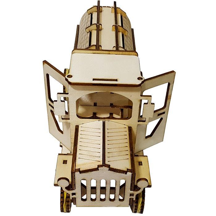 پازل سه بعدی چوبی 88 تکه برتاریو مدل تانکر