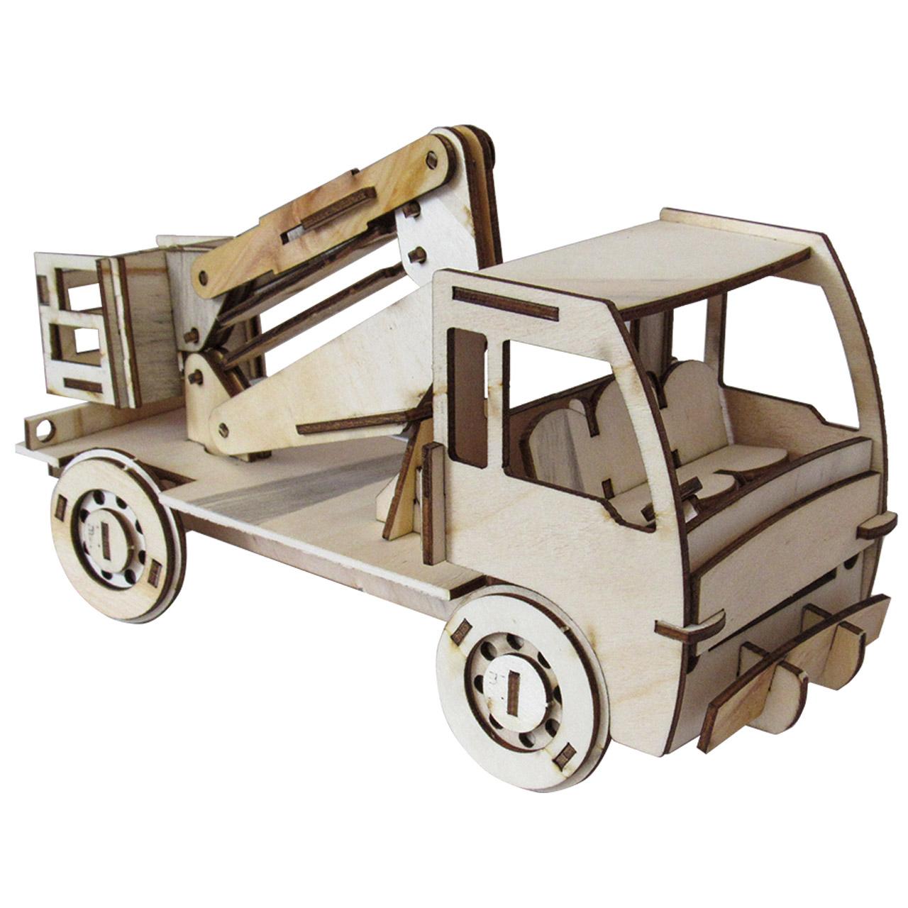 پازل سه بعدی چوبی 70 تکه برتاریو مدل بالابر